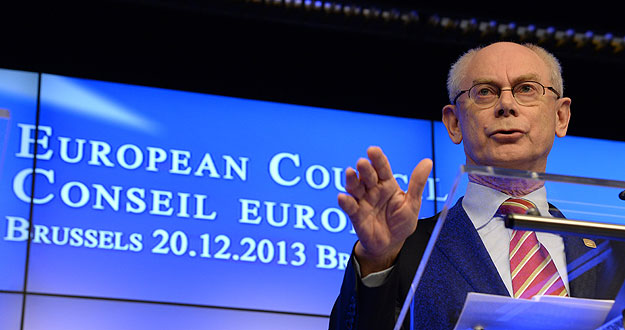 El presidente del Consejo Europeo, Herman Van Rompuy / AFP