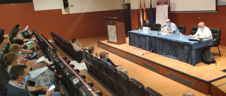 Comisión Ejecutiva de la EAPN Castilla-La Mancha reunida hoy.