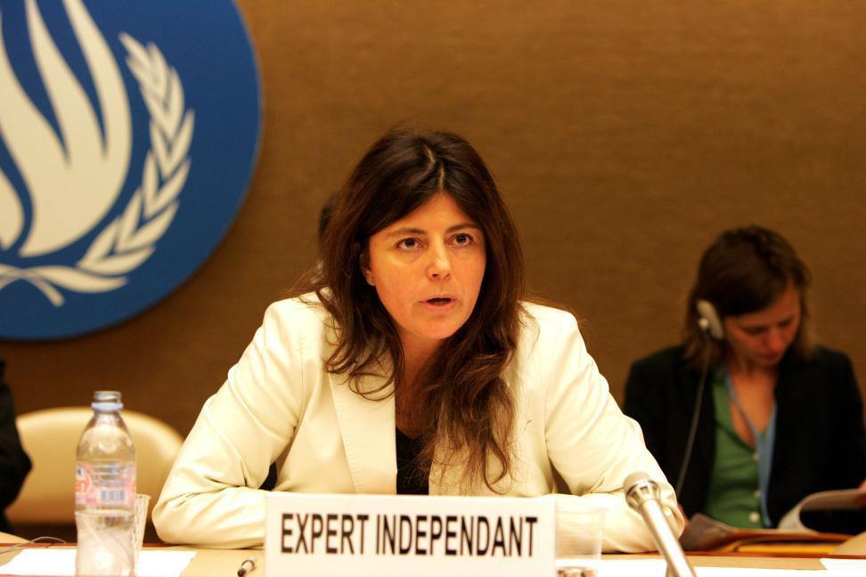 La Relatora Especial sobre pobreza extrema y derechos humanos, Magdalena Sepúlveda Carmona