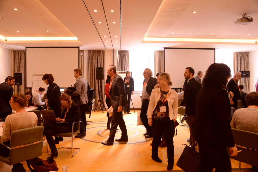 Foto de participantes en la Convención