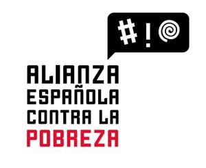 Logo de la Alianza Española contra la Pobreza