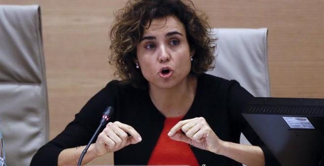 Ministra de Sanidad, Servicios Sociales e Igualdad, Dolors Montserrat