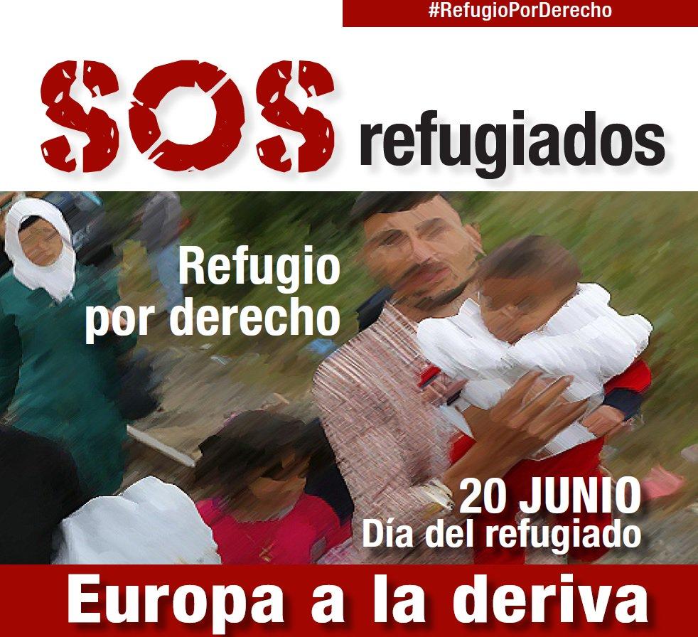 Cartel #RefugioPorDerecho