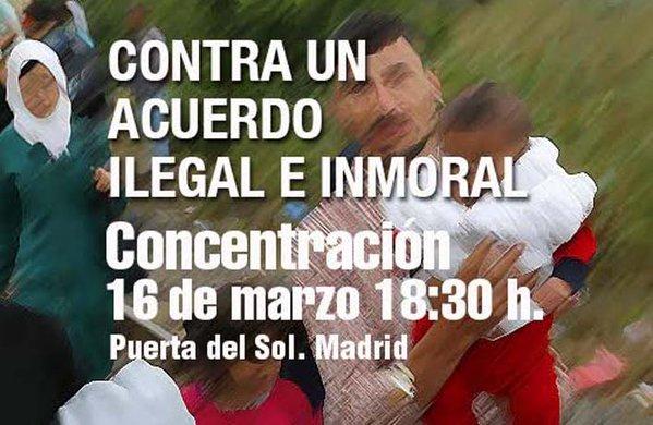 Cartel Convocatoria Madrid
