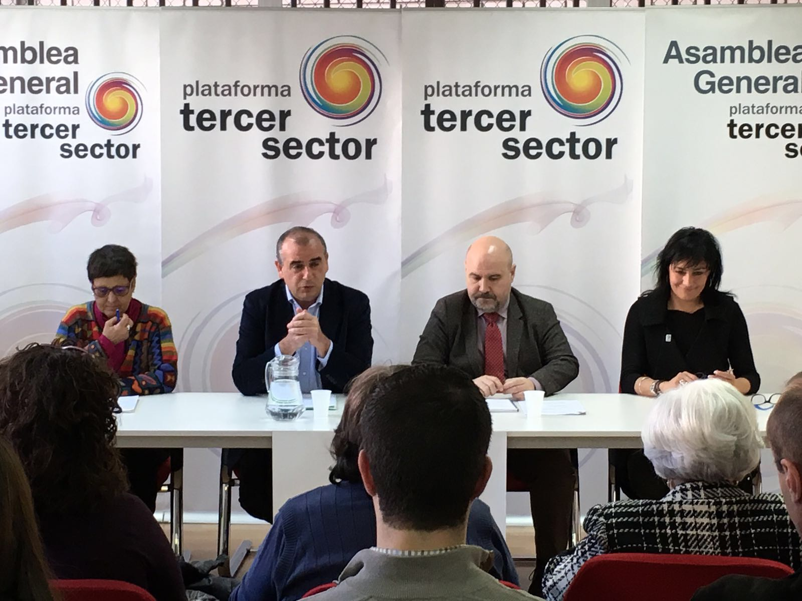 Rueda de Prensa de la Plataforma del Tercer Sector