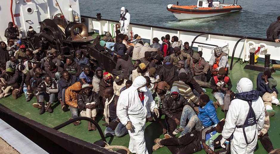 Tragedia de la inmigración en Lampedusa
