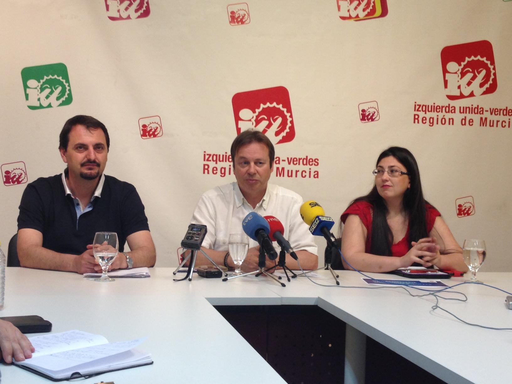 Apoyo de IU-Verdes a la Europa Social en la región de Murcia