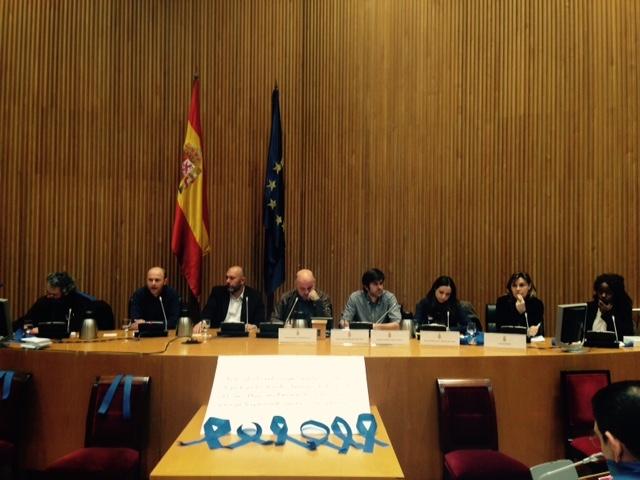 Representantes de la sociedad civil se reúnen en el Congreso de los Diputados