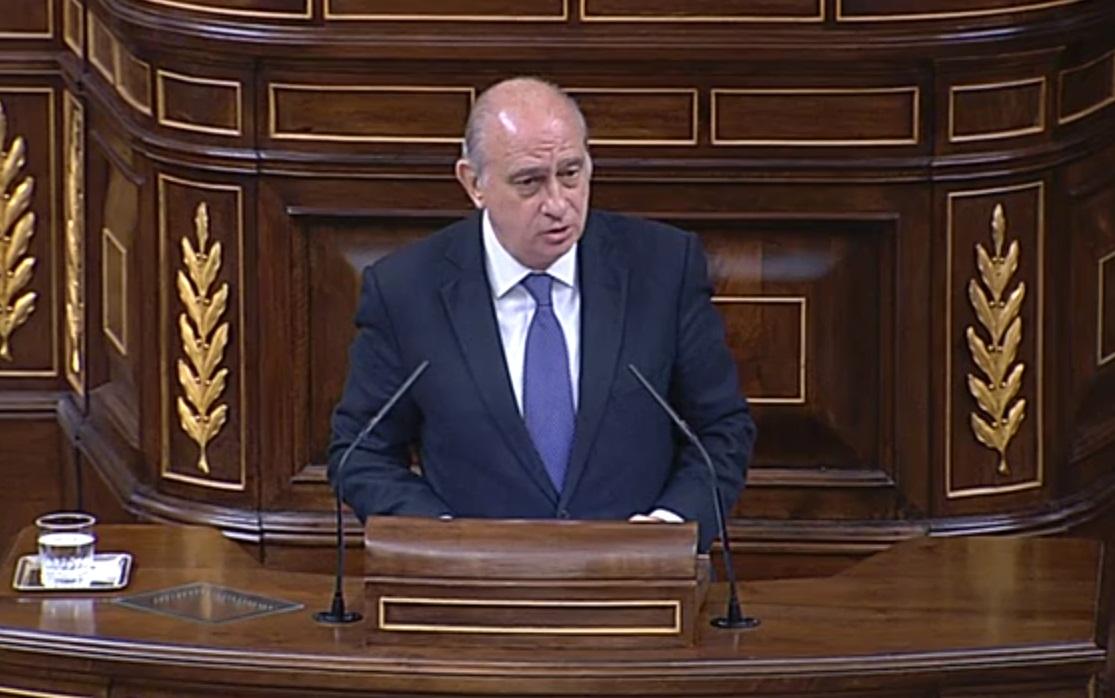 Ministro del Interior, Fernández Díaz