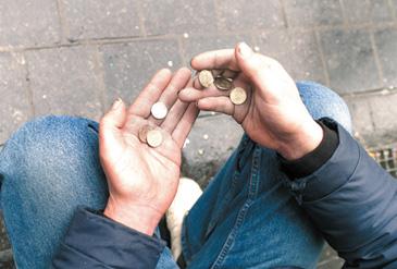 Pobreza en España