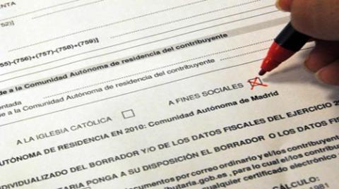 Casilla de Fines Sociales en la Declaración de la Renta