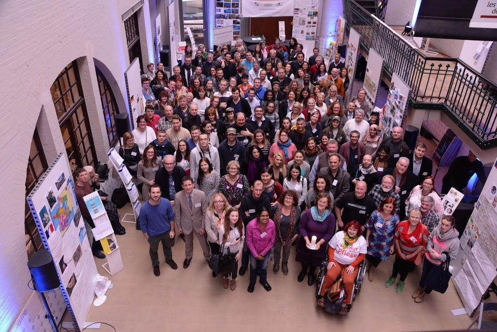 Foto de Grupo del Encuentro Europeo de Participación de EAPN